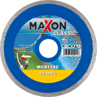 MAXON FAIANTA 115 Disc diamantat continuu MAXON MCS115C