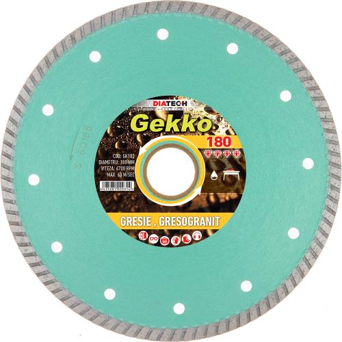 GEKKO 180 Disc diamantat pt. gresie GEKKO 180